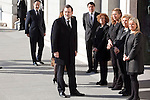 Spain President Mariano Rajoy attends the 11M March 11, 2004 terrorist attempt remember mass at Almudena Cathedral in Madrid, Spain. March 11, 2014. (ALTERPHOTOS/Victor Blanco)