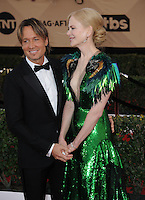 www.acepixs.com<br /> <br /> January 29 2017, LA<br /> <br /> Nicole Kidman and Keith Urban arriving at the 23rd Annual Screen Actors Guild Awards at The Shrine Expo Hall on January 29, 2017 in Los Angeles, California<br /> <br /> By Line: Peter West/ACE Pictures<br /> <br /> <br /> ACE Pictures Inc<br /> Tel: 6467670430<br /> Email: info@acepixs.com<br /> www.acepixs.com