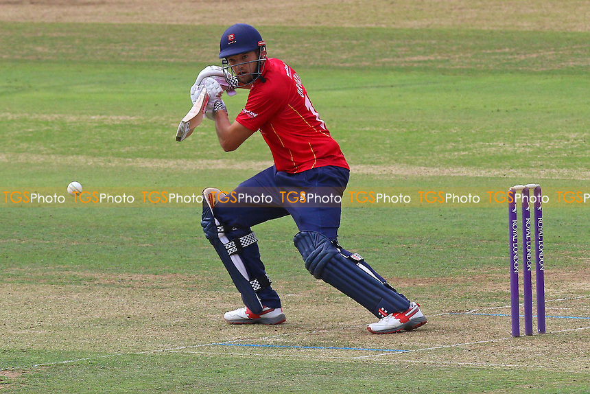Nick Browne in batting action for Essex during Middlesex vs Essex Eagles, Royal London One-Day Cup Cricket at Lord's Cricket Ground on 31st July 2016