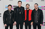 LOS ANGELES, CA - NOVEMBER 24: Imagine Dragons<br />  arrives at   The 2013 American Music Awards held at Nokia Live in Los Angeles, California on November 24,2013                                                                               &copy; 2013 Hollywood Press Agency