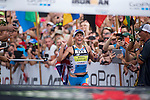 KONA-KAILUA, HI - OCTOBER 11:  Mirinda Carfrae of Australia competes en route to winning the 2014 IRONMAN Triathlon World Championships presented by GoPro on October 11, 2014 in Kailua-Kona, Hawaii. (Photo by Donald Miralle) *** Local Caption *** Mirinda Carfrae