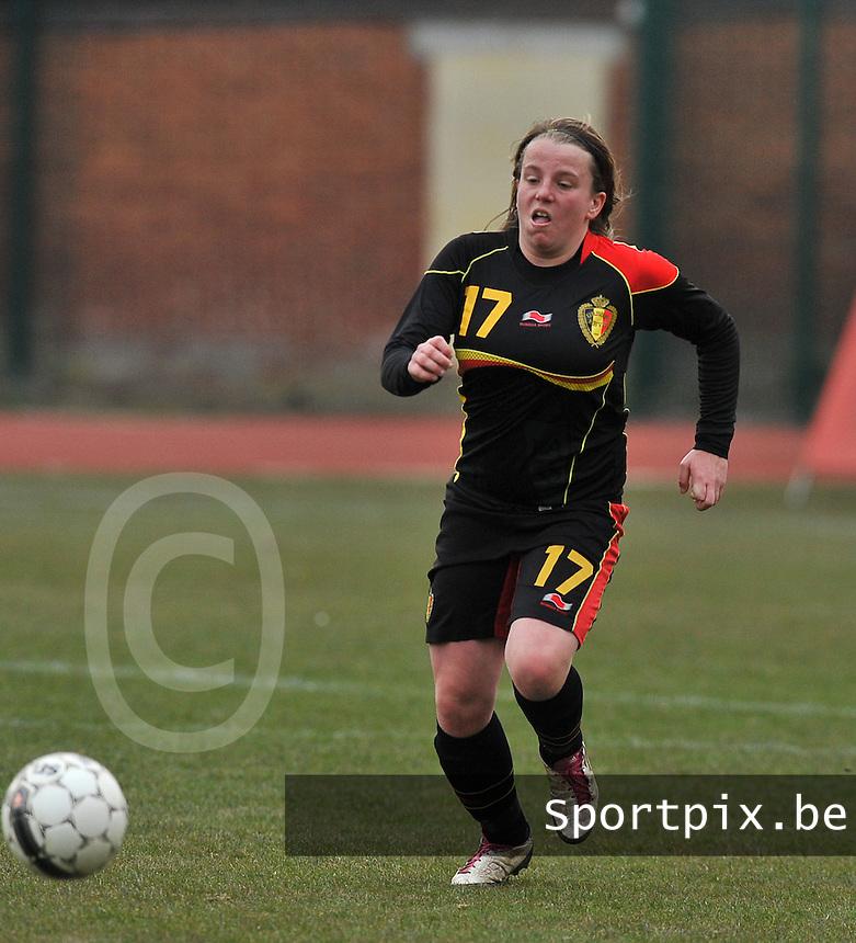 France U19 - Belgium U19 : Lucinda Michez.foto DAVID CATRY / Nikonpro.be