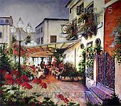 Malenda, LANDSCAPES, paintings(USMT75,#L#) Landschaften, Schiffe, paisajes, barcos, llustrations, pinturas