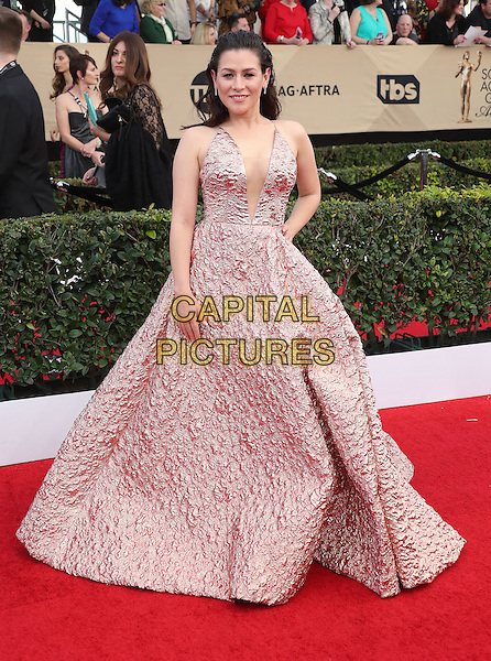 29 January 2017 - Los Angeles, California - Yael Stone. 23rd Annual Screen Actors Guild Awards held at The Shrine Expo Hall. <br /> CAP/ADM/FS<br /> &copy;FS/ADM/Capital Pictures