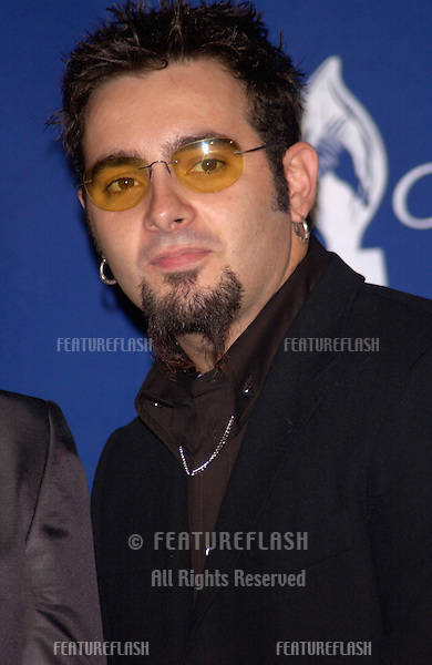 *NSYNC star CHRIS KIRKPATRICK at the 28th Annual People's Choice Awards in Pasadena..13JAN2002..© Paul Smith/Featureflash