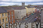Ariel view of Ashe Street, Tralee from the Courthouse