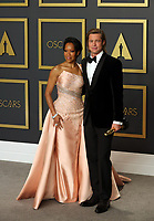 09 February 2020 - Hollywood, California -   Regina King, Brad Pitt attend the 92nd Annual Academy Awards presented by the Academy of Motion Picture Arts and Sciences held at Hollywood & Highland Center. Photo Credit: Theresa Shirriff/AdMedia