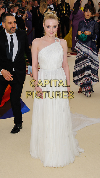 07 May 2018 - New York, New York - Dakota Fanning. 2018 Metropolitan Museum of Art Costume Institute Gala: &quot;Heavenly Bodies: Fashion and the Catholic Imagination. <br /> CAP/ADM/CS<br /> &copy;CS/ADM/Capital Pictures