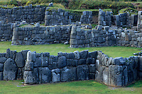 Sacsayhuaman, Cuzco, Peru - Stonework Walls of Fortress