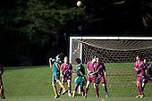 Pukekohe AFC vs Oratia United AFC 15th Grade Metro football game played at Bledisloe Park, Pukekohe on Sunday May 29th 2011.
