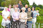 Pictured at the launch of the Killorglin Pony Show at St Josephs Home, Killorglin on Saturday were Sr Consilli, Jamie Kissane, Michaela Foley, Johnny Cronin, Sr Elizabeth, Glen Evans, Sr Helena, Gene Evans, Roisin Johnson, Josie Kissane, Ruairi Kissane and Julia O'Neill...............................................Christy O'Mahony, captain Beaufort Golf club and Irene McCarthy, Lady Captain Beaufort Golf Club pictured with James Lucey and Sheila McCarthy, who were the winners in their Captain Prize Competition at the course on Sunday. Also pictured are Frank Coffey, President, Sean Coffey, vice captain, Teresa Clifford, Margaret Guerin, Josephine O'Shea, Gretta Hurley, Renee Clifford, Peggy O'Riordan, Maureen Rooney, Mary Barrett, Robin Suter, Gearoid Keating, Jim Hurley, Gabhan O'Loughlin, Rory Browne, Mike Quirke, Matt Templeman and Simon Rainsford...Picture: Ger Cronin LMPA (087) 0522010....PR SHOT..NO REPRODUCTION FEE.............................................................................................................................................................................................................................................
