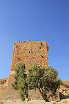 The Southern Tower or the Women's Tower at the Greek Orthodox Mar Saba monastery in the Judean Desert