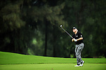 TAIPEI, TAIWAN - NOVEMBER 19:  Roger Chapman of England plays his second shot on the 2nd hole during day two of the Fubon Senior Open at Miramar Golf & Country Club on November 19, 2011 in Taipei, Taiwan.  Photo by Victor Fraile / The Power of Sport Images