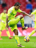 Getafe CF's Damian Suarez during La Liga match. January 6,2018. (ALTERPHOTOS/Acero) /NortePhoto.com NORTEPHOTOMEXICO