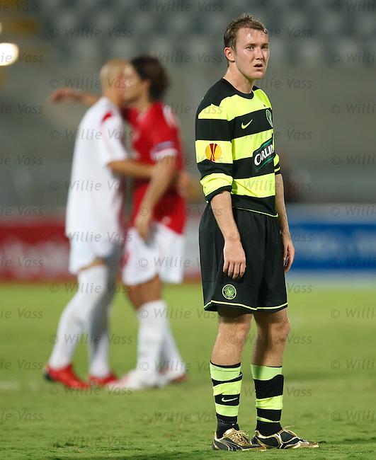 Aiden McGeady close to tears