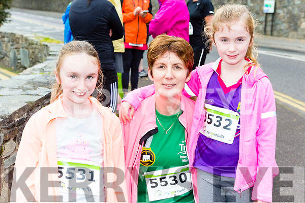 Aisling, Brenda and Aoife O'connell Tralee who ran the Killarney Women's mini-marathon on Saturday