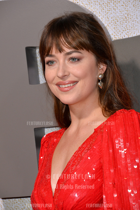 LOS ANGELES, CA. October 24, 2018: Dakota Johnson at the Los Angeles premiere for &quot;Suspiria&quot; at the Cinerama Dome.<br /> Picture: Paul Smith/FeatureflashLOS ANGELES, CA. October 24, 2018: 4 at the Los Angeles premiere for &quot;Suspiria&quot; at the Cinerama Dome.<br /> Picture: Paul Smith/Featureflash