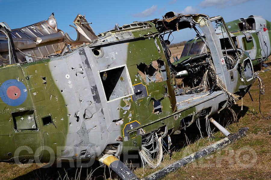 Augusta Westland Lynx Wreck