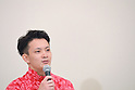 Yusuke Tanaka (JPN), <br /> JULY 19, 2016 - Artistic Gymnastics : <br /> Japan Men's Artistic Gymnastics national team send-off press conference <br /> for the Rio 2016 Olympic Games in Tokyo, Japan. <br /> (Photo by AFLO SPORT)
