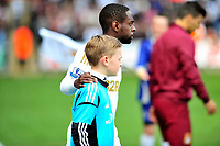 Pictured: Nathan Dyer.<br /> Saturday 04 May 2013<br /> Re: Barclay's Premier League, Swansea City FC v Manchester City at the Liberty Stadium, south Wales.