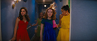 La La Land (2016)<br /> Emma Stone, Sonoya Mizuno, Callie Hernandez &amp; Jessica Rothe<br /> *Filmstill - Editorial Use Only*<br /> CAP/KFS<br /> Image supplied by Capital Pictures