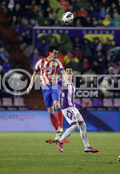 Real Valladolid V Atletico de Madrid match of La Liga 2012/13. 17/02/2012. Victor Blanco/Alterphotos /NortePhoto