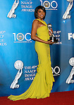 LOS ANGELES, CA. - February 12: Actress Taraji P. Henson poses in the press room for the 40th NAACP Image Awards at the Shrine Auditorium on February 12, 2009 in Los Angeles, California.