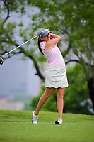 Dori Carter (USA) watches her tee shot on 3 during round 3 of  the Volunteers of America Texas Shootout Presented by JTBC, at the Las Colinas Country Club in Irving, Texas, USA. 4/29/2017.<br /> Picture: Golffile | Ken Murray<br /> <br /> <br /> All photo usage must carry mandatory copyright credit (&copy; Golffile | Ken Murray)