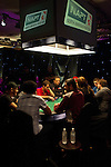 A view of the TV final table for the NAPT Los Angeles Bounty Shootout