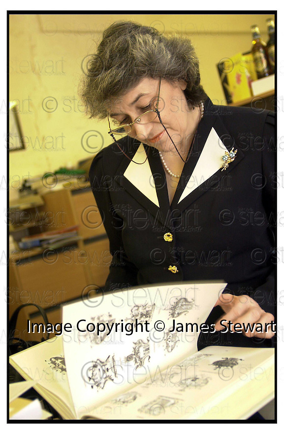 26th January 2001    Copyright Pic : James Stewart .Ref :          .File Name : stewart13-tarnovsky.PHOTOGRAPH OF TATJANA HINE (TARNOVSKY).....(see copy from George Mair)....Payments to :-.James Stewart Photo Agency, Stewart House, Stewart Road, Falkirk. FK2 7AS      Vat Reg No. 607 6932 25.Office : +44 (0) 1324 630007        Mobile : 07721 416997.Fax     : +44 (0) 1324 630007.E-mail : jim@jspa.co.uk.If you require further information then contact Jim Stewart on any of the numbers above.........