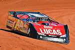 Feb 07, 2014; 11:38:55 AM; Waynesville, GA., USA; The Lucas Oil Late Model Dirt Series running The Georgia Boot Super Bowl of Racing at Golden Isles Speedway.  Mandatory Credit: (thesportswire.net)