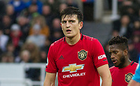 Harry Maguire & Fred of Man Utd during the Premier League match between Newcastle United and Manchester United at St. James's Park, Newcastle, England on 6 October 2019. Photo by J GILL / PRiME Media Images.