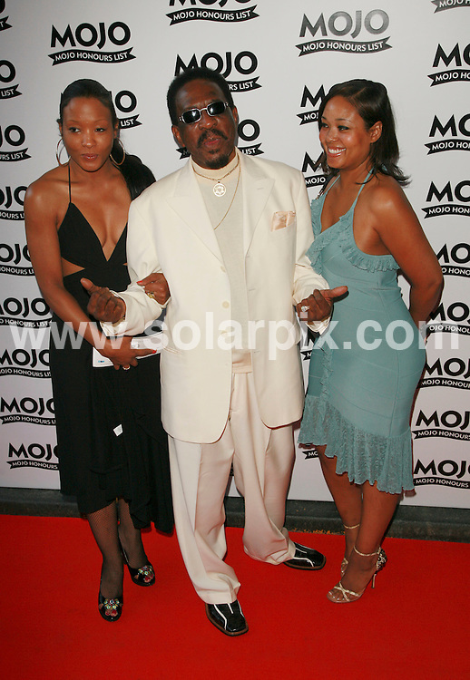 **ALL ROUND PICTURES FROM SOLARPIX.COM**.Mojo Music Awards Honours List 2007 at the Brewery, London..This pic: Ike Turner..JOB REF:  4094  GMT   DATE: 18.06.07.**MUST CREDIT SOLARPIX.COM OR DOUBLE FEE WILL BE CHARGED* *UNDER NO CIRCUMSTANCES IS THIS IMAGE TO BE REPRODUCED FOR ANY ONLINE EDITION WITHOUT PRIOR PERMISSION*