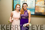 Enjoying the Rathmore Debs at Ballyroe Heights Hotel on Tuesday were Chloe O'Connor and Kate Hickey.