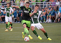 Seattle Sounders vs Portland Timbers, July 9, 2014