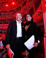 Confronto tra i candidati Sindaco per Napoli<br /> Gianni Lettierie Valeria Valente