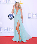 Heidi Klum at The 64th Anual Primetime Emmy Awards held at Nokia Theatre L.A. Live in Los Angeles, California on September  23,2012                                                                   Copyright 2012 Hollywood Press Agency