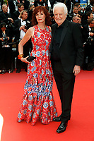 CANNES, FRANCE -  Sabine Azema and Andre Dussollier attends 'The Dead don't Die' premiere during the 72nd annual Cannes Film Festival on May 14, 2019 in Cannes, France. <br /> CAP/GOL<br /> &copy;GOL/Capital Pictures