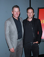 NEW YORK, NY - JANUARY 6: Lance Armstrong,  Bryan Fogel at  Netflix's Icarus screening at 1 Hotel Brooklyn Bridge in Brooklyn, New York City on January 6, 2018. <br /> CAP/MPI/RW<br /> &copy;RW/MPI/Capital Pictures