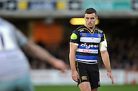 George Ford of Bath Rugby looks on. Aviva Premiership match, between Bath Rugby and Northampton Saints on December 5, 2015 at the Recreation Ground in Bath, England. Photo by: Patrick Khachfe / Onside Images