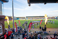Picture by Allan McKenzie/SWpix.com - 10/05/2018 - Rugby League - Ladbrokes Challenge Cup - Featherstone Rovers v Hull FC - LD Nutrition Stadium, Featherstone, England - Featherstone and Hull FC come out to contest the Ladbrokes Challenge Cup match.