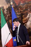 Roma, 26 Febbraio 2016<br /> Matteo Renzi<br /> Il Presidente del Consiglio riceve il Presidente della Commissione Europea