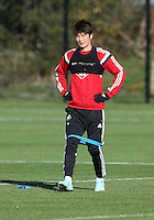 Pictured: Ki SUng Yueng Wednesday 05 November 2014<br />
