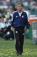 Chivas USA head coach Hans Westerhof at the Home Depot Center in Carson, CA on Saturday, July 16, 2005..(Matt A. Brown/ISI)