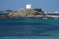 Europe/Royaume-Uni/&Icirc;les Anglo-Normandes/&Icirc;le de Guernesey/ Saint-Pierre:<br /> Le Fort Grey abrite un Mus&eacute;e maritime o&ugrave; sont conserv&eacute;s et pr&eacute;sent&eacute;s au public de nombreux objets r&eacute;cup&eacute;r&eacute;s dans les &eacute;paves<br />  Saint-Pierre