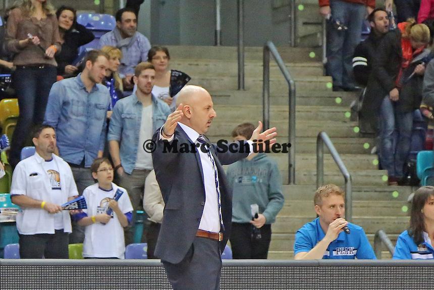 Trainer Sasa Obradovic (Alba) - Fraport Skyliners vs. Alba Berlin Fraport Arena Frankfurt