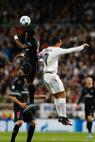03.11.2015. Madrid, Spain.  Cristiano Ronaldo dos Santos (7) Real Madrid during the soccer match UCL Champions League between Real Madrid and PSG at the Santiago Bernabeu stadium in Madrid, Spain, November 3, 2015.