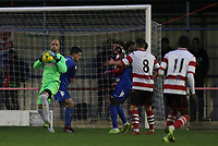 Rob Tolfrey of Kingstonian retrieves the ball during Kingstonian vs Lewes, BetVictor League Premier Division Football at King George's Field on 16th November 2019