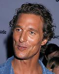 "MALIBU, CA. - September 10: Matthew McConaughey arrives at the ""Surfer Dude"" premiere at the Malibu Cinemas on September 10, 2008 in Malibu, California."