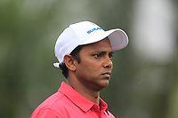 SSP Chawrasia (Asia) on the 2nd tee during the Friday Foursomes of the Eurasia Cup at Glenmarie Golf and Country Club on the 12th January 2018.<br /> Picture:  Thos Caffrey / www.golffile.ie